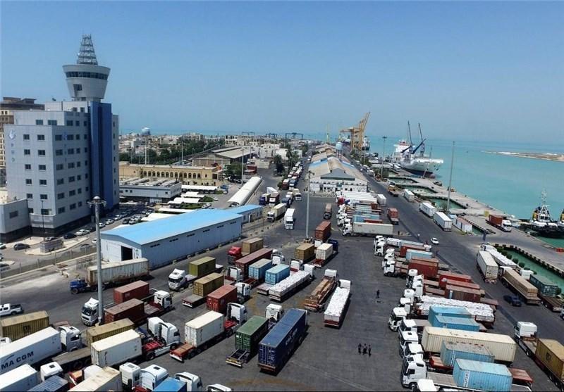 ۲۱میلیون و ۵۶۱هزار تن کالا از بوشهر صادر شد