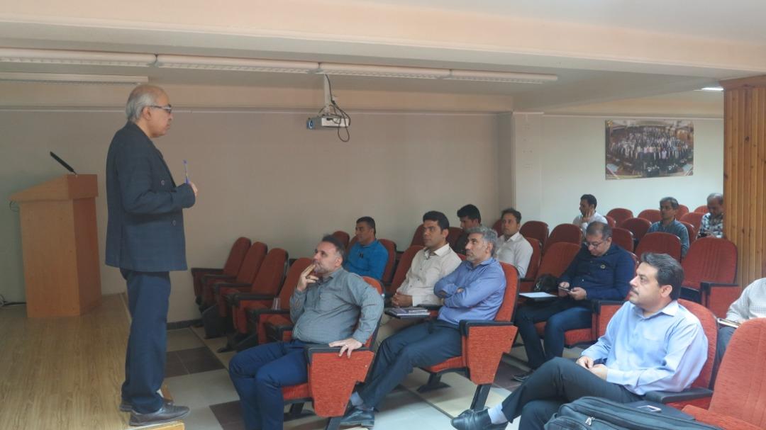 برگزاری کارگاه آموزشی در مدیریت برق استان بوشهر