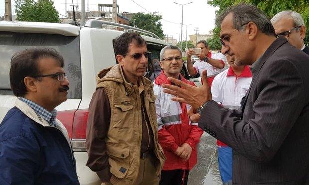 وضعیت آبگرفتگی بوشهر زیبنده نیست