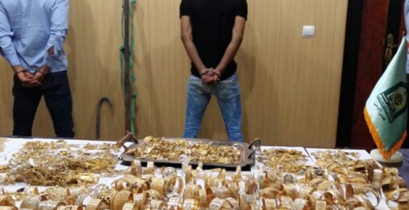 سارقان طلا در گناوه دستگیر شدند