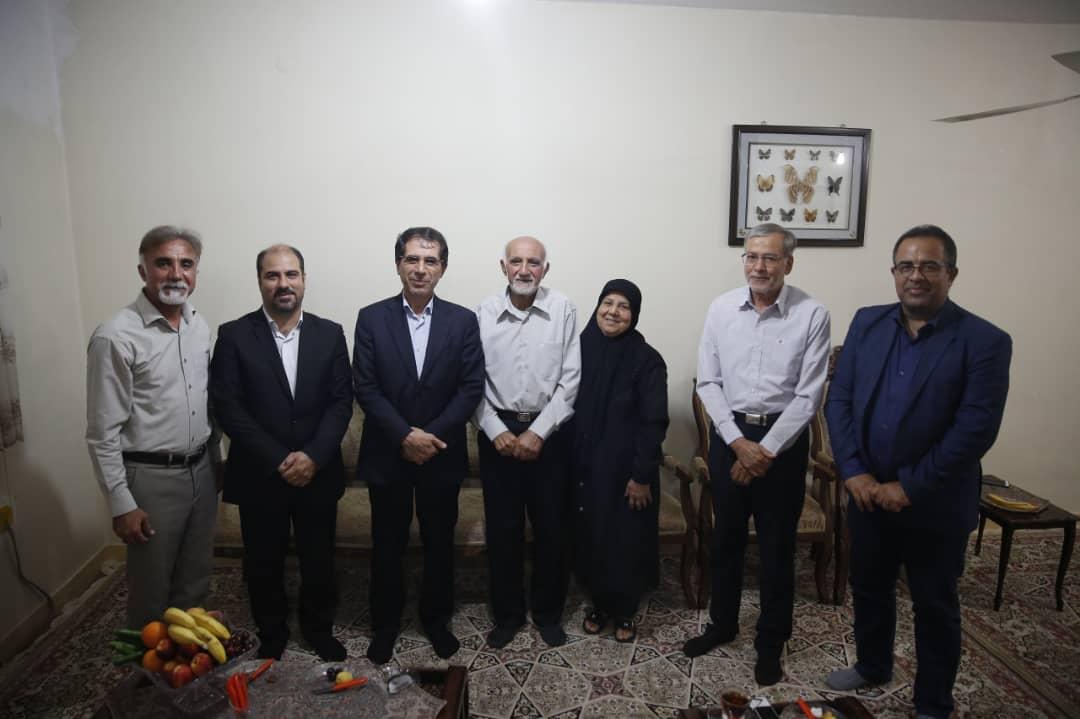 دیدار معاون سیاسی استاندار بوشهر با پیر مطبوعات استان بوشهر
