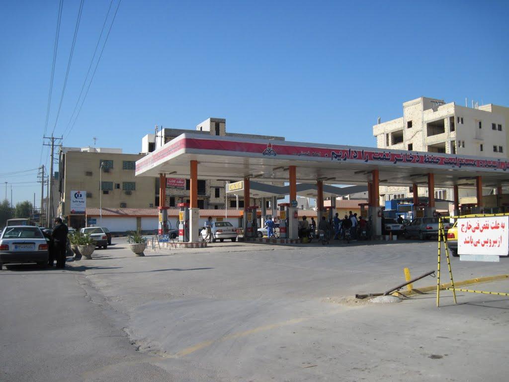 قتل در پمپ بنزین باغ زهرا