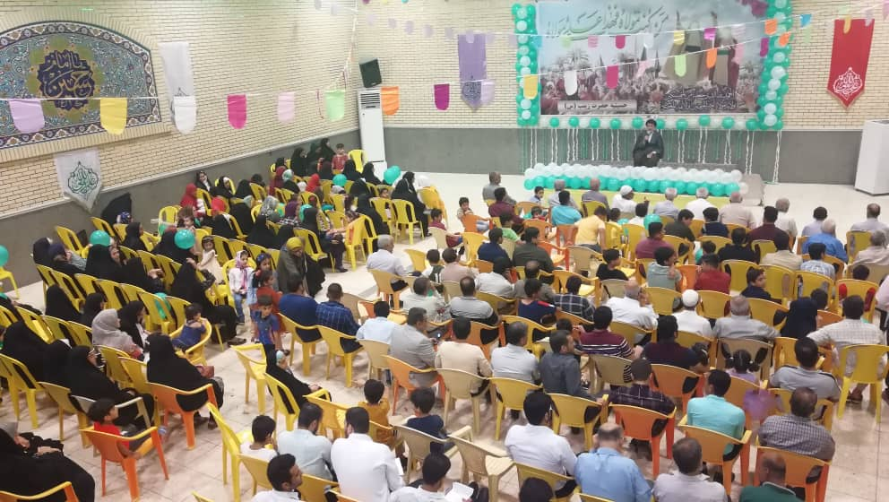 برگزاری جشن غدیر در حسینیه حضرت زینب(س)کوی عبدامام گناوه