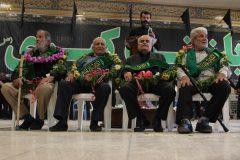 تجلیل از چهار پیر غلام حسینی در مراسم دیرین سر صفری