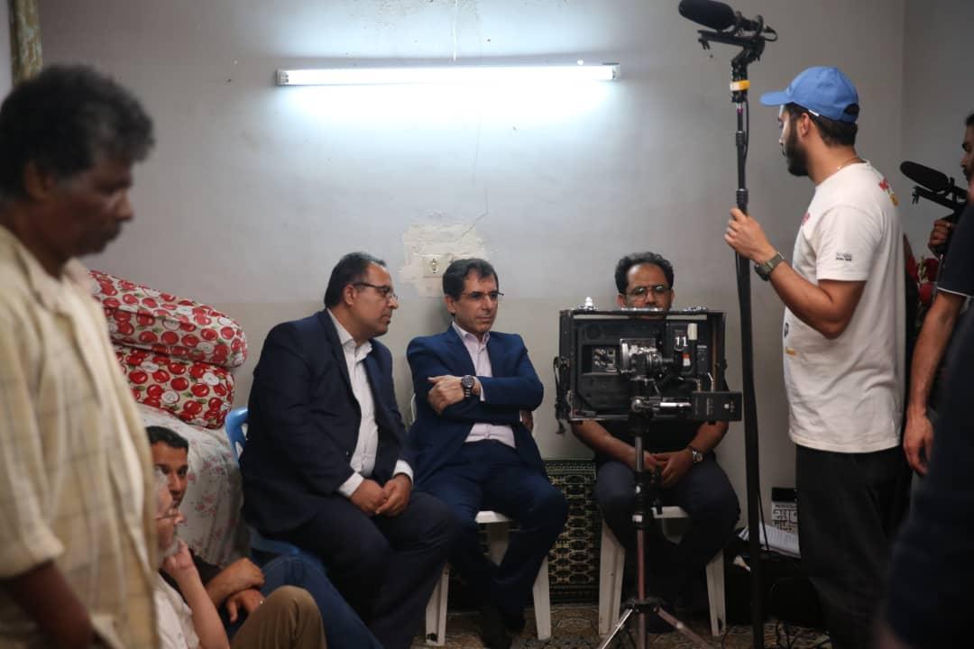 بازدید دکتر خورشیدی از پروژه سینمایی موسی