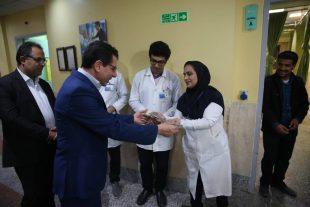 بازدید معاون استاندار بوشهر از دو بیمارستان بوشهر به مناسبت روز پرستار+تصاویر