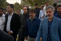 پیاده روی کارکنان شهرداری بوشهر