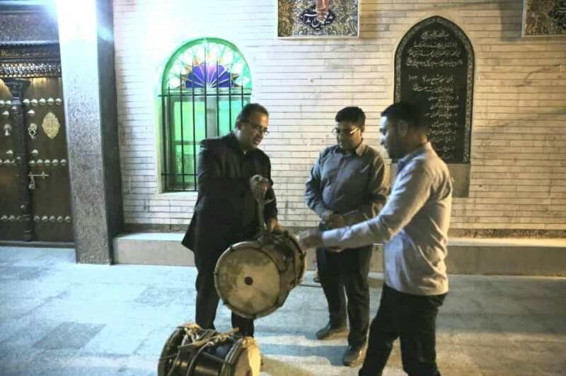 تقدیر از برگزارکنندگان آیین دم دم سحری در بوشهر