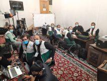 مستقر شدن تیم رسانه استان بوشهر در حرم مطهر رضوی