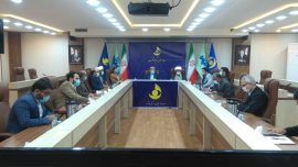 نشستی بین دبیرخانه کانوهای خدمت رضوی و مدیرکل صداوسیما مرکز استان بوشهر برگزار شد