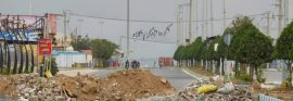 کج سلیقگی در مسدود کردن خیابان ها در شهر گناوه
