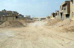 ساخت خیابان جدید در گناوه ادامه می یابد.