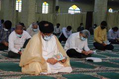مراسم دعای عرفه در گناوه برگزار شد