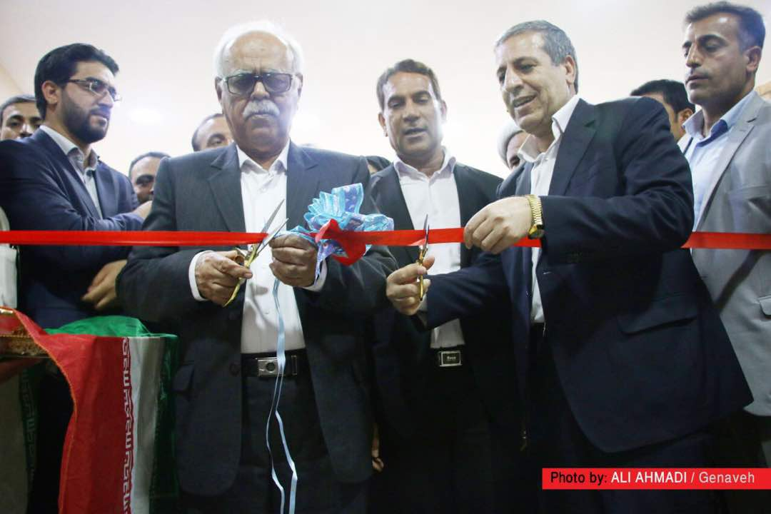 افتتاح تالار بهزاد در بندر گناوه+تصاویر