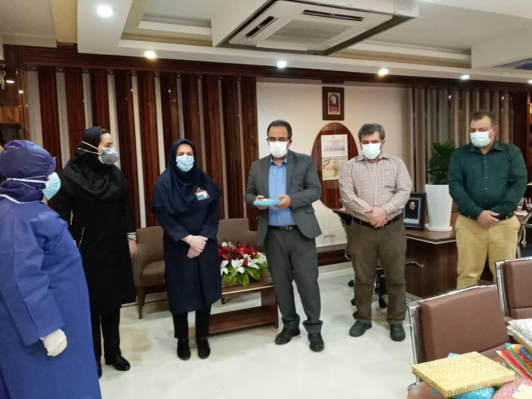 تلاش کادر درمان در تاریخ ایران ماندگار می شوند.
