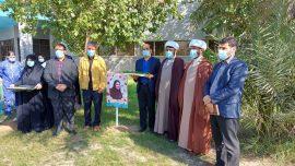 قدردانی خادمیاران رضوی از کادر درمان و شهید مدافع سلامت بیمارستان شهدای خلیج فارس بوشهر