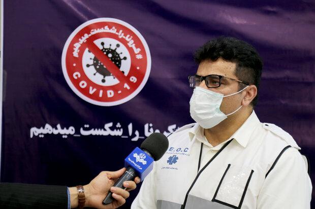 روزانه بیش از ۱۰ هزار واکسن کرونا به گروههای سنی تعیین شده در استان تزریق میشود