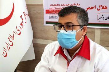 استقرار خودروهای مجهز هلال احمر در جاده های استان بوشهر