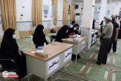 قسمت آخر از حضور پرشور مردم گناوه پای صندوق های رای