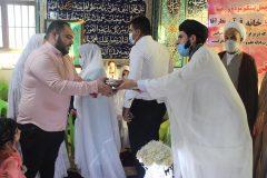 ازدواج زوج های قرآنی زیر سایه پرچم امام رضا علیه السلام