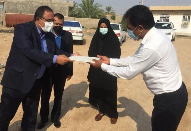 استانداری بوشهر از همیار طبیعت در گناوه تقدیر کرد