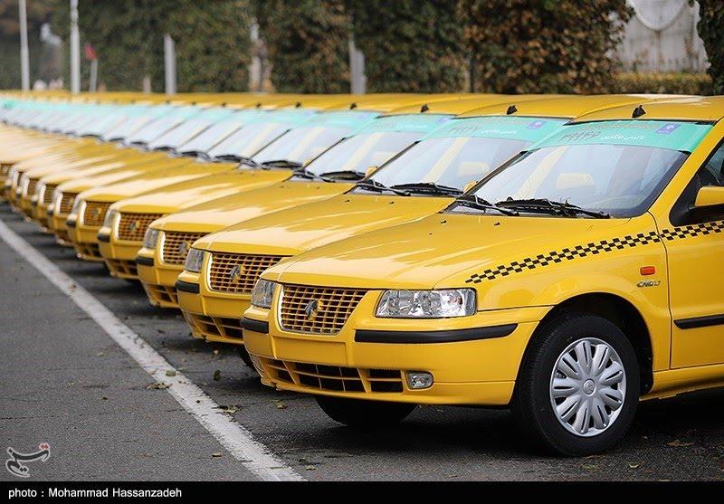 تاکسی شهری در گناوه